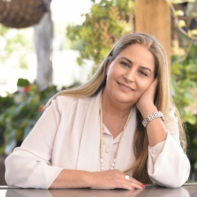 זיוה יצחק, סופרת. צילום: גיל דור