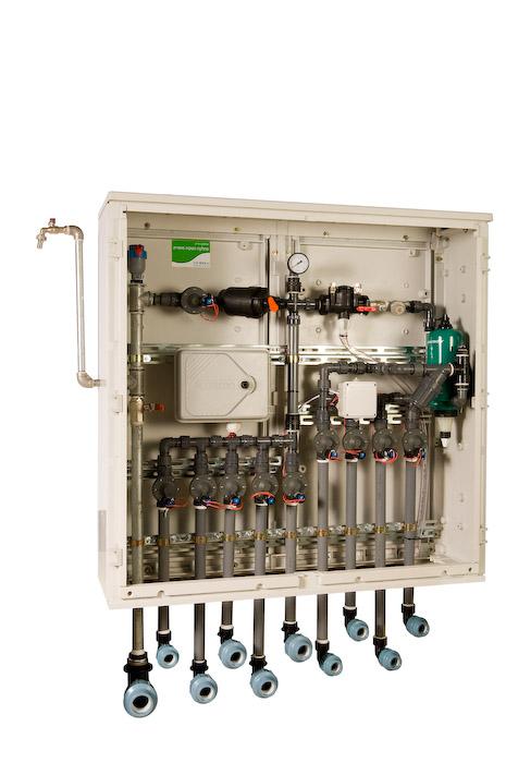מתוחכם הידרו סיסטמס - ארון השקיה 4 מגופים עם מחשב השקיה DC TL-22