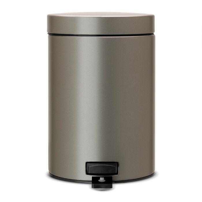 פח אשפה ניקל 30 ליטר+ פדל