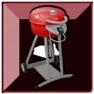 גריל גז ביסטרו אדום- BISTRO INFRA RED מבית Char-broil USA