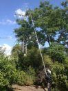 מוט טלסקופי עד 8  מטר גובה
