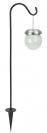 כדור בדולח סולארי על וו תליה - 2 יחידות L21017D