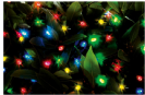 שרשרת סולארית 50 נורות LED צבעוניות L24201D