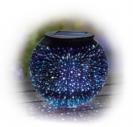 מנורת שולחן כדור סולארי אפקט כוכבים L26238