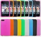 נרתיק סיליקון איכותי לאייפוד 4G - מבחר צבעים רחב