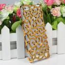 כיסוי מעוצב זהב לאייפון 5s \ 5