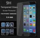 """מגן מסך מזכוכית מחוסמת 0.4 מ""""מ למכשירי אייפון"""