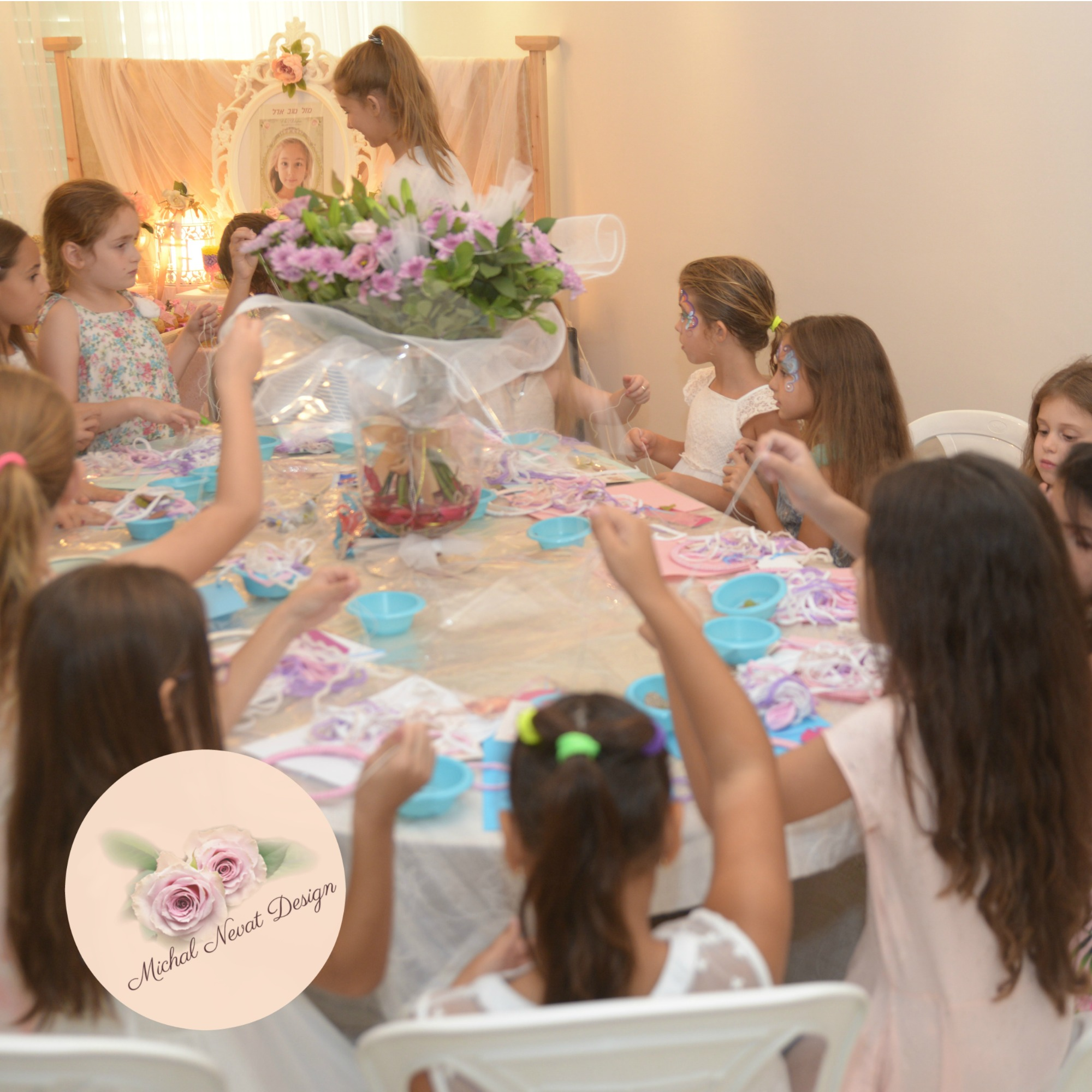 הפעלת יום הולדת בנות, סדנאות יצירה ליום הולדת בנות