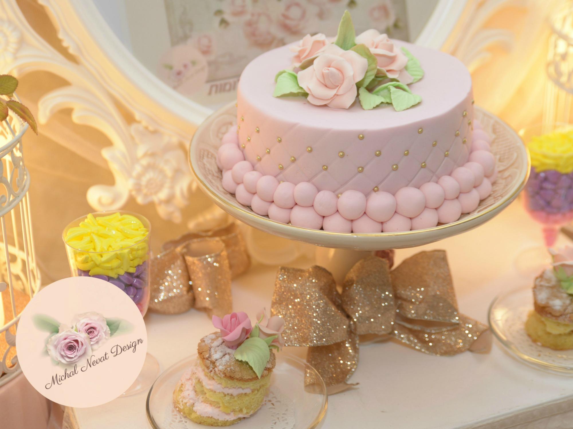 הפעלת יום הולדת נסיכות - שולחנות בר מתוק