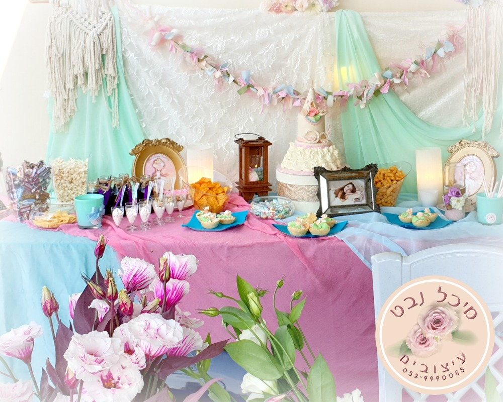 שולחנות מתוקים ליום הולדת, שולחן מתוק לומולדת 16
