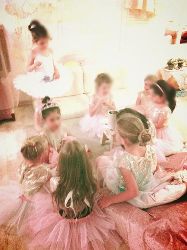 הפעלת יום הולדת בנות, יום הולדת בלרינות בלט