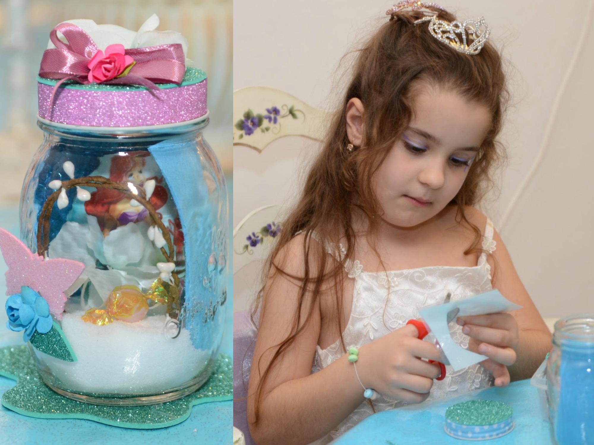 יום הולדת בת הים הקטנה, בנות, יום הולדת יצירה,