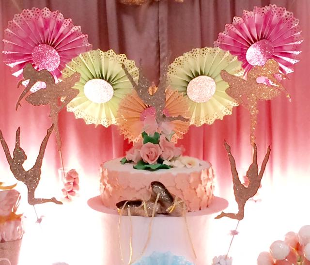 שולחן בר מתוק לבת מצווה, שולחן בר מתוק בלט