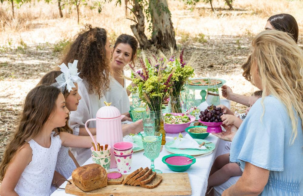 פיקניק שבועות, רעיון למסיבת שבועות עם ילדים