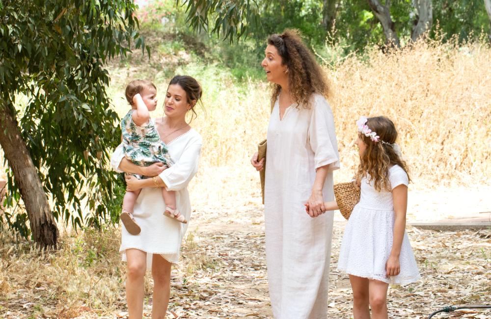 פיקניק בטבע עם ילדים, פיקניק שבועות עם ילדים