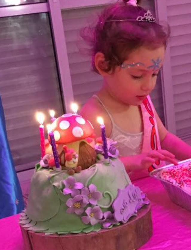 יום הולדת בנות, שולחן מתוק ליום הולדת פיות