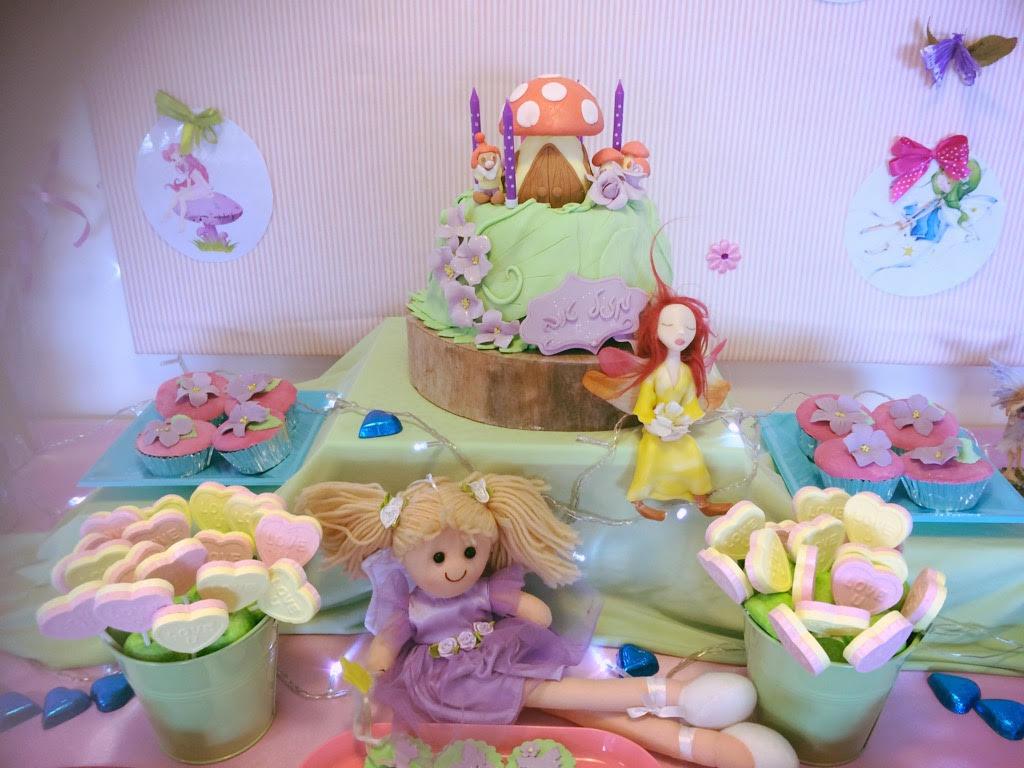 שולחן מתוק בר מתוק ליום הולדת פיות לגיל ארבע