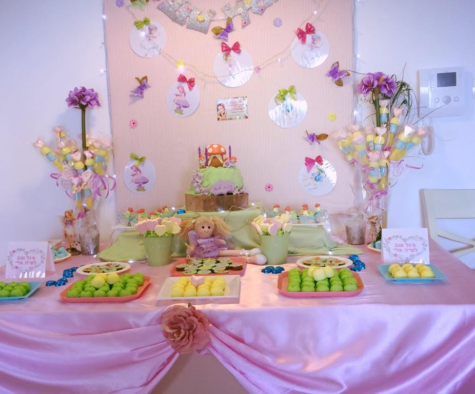 שולחן מתוק בנות, שולחן מתוק ליום הולדת פיות