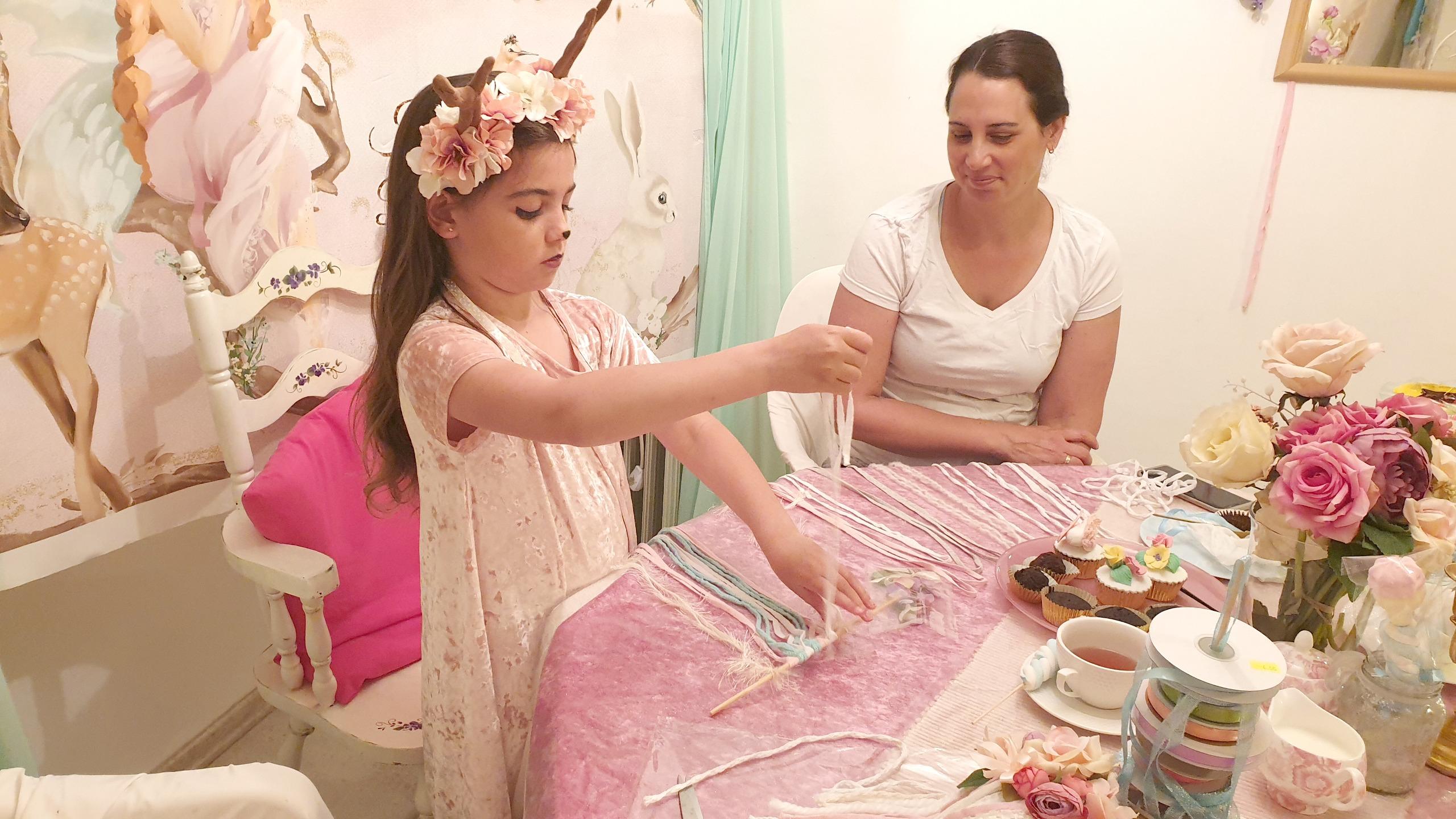 יום כיף אמהות ובנות בצפון, דייט עם אמא, סדנת יצירה