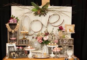 שולחן מתוק לבת בר מצווה, שולחנות מתוקים