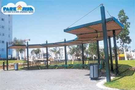 """פרגולה דגם גן העיר -אשדוד מק""""ט 6370"""