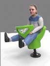 """מושב קפיץ """"פרוגי"""" מק""""ט 220034"""