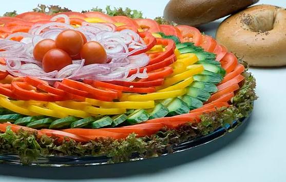 מגש ירקות בלבד