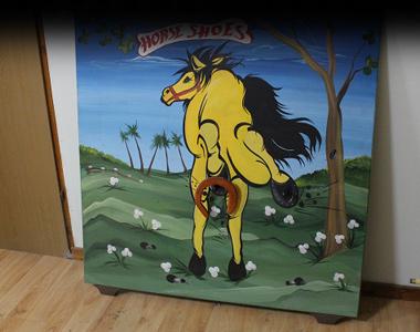 זריקת פרסה לסוס