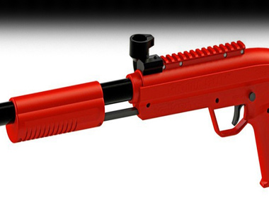 רובה צבע פלסטיק