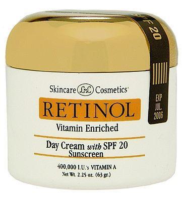 קרם יום Retinol SPF 20