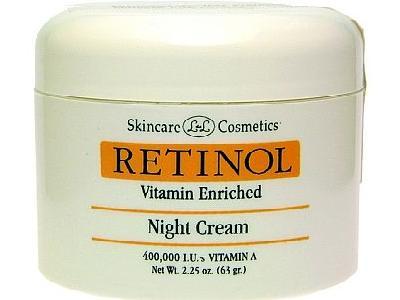 קרם לילה Retinol