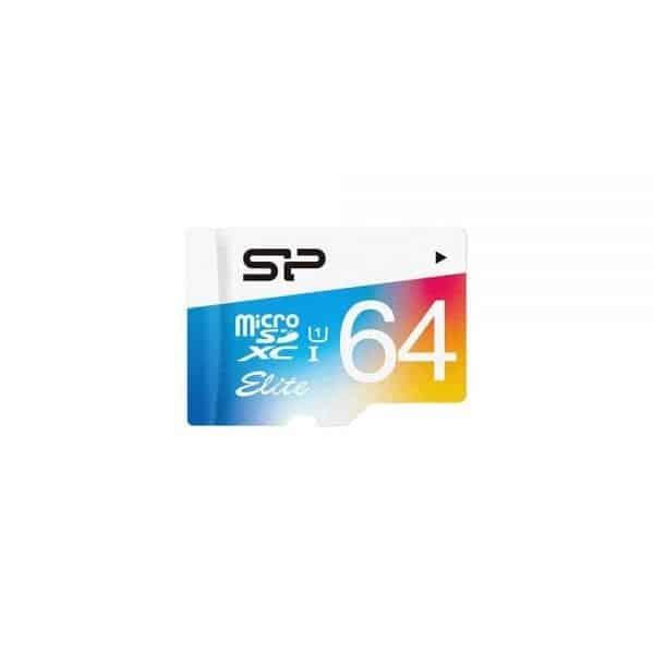 תמונה של כרטיס זיכרון microSD ELITE 64GB