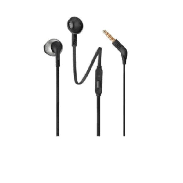 לחץ כאן לרכישת אוזניות כפתור JBL T205 שחור