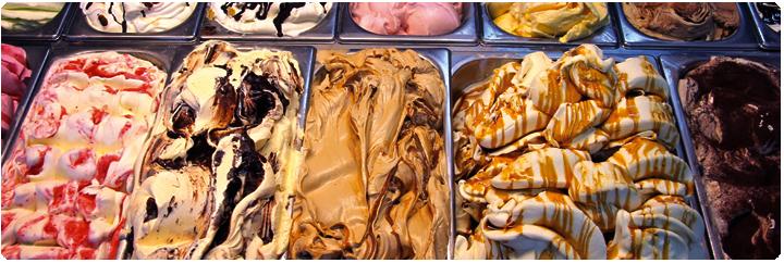 דוכן גלידות