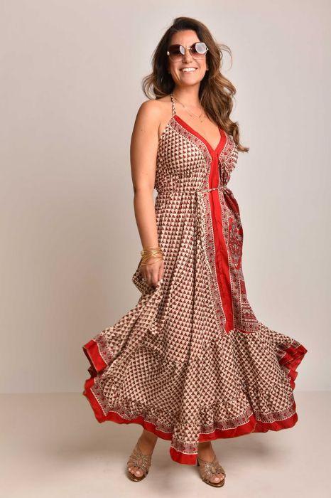 שמלה הילה אדומה