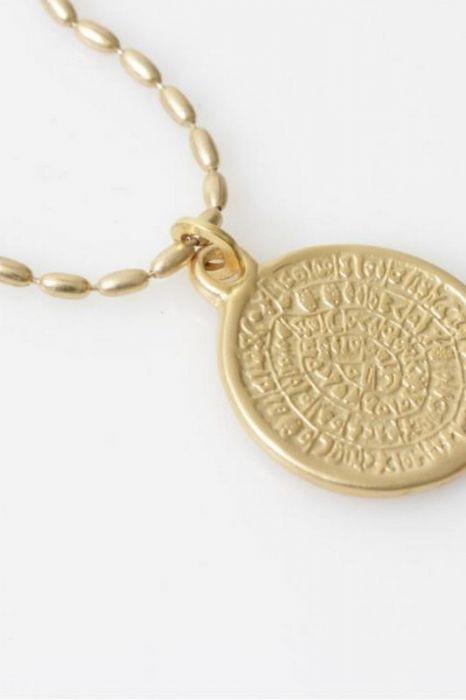 שרשרת מטבע זהב