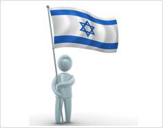מחזיק דגל ישראל