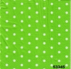 מפיות נקודות ירוק תפוח ולבן