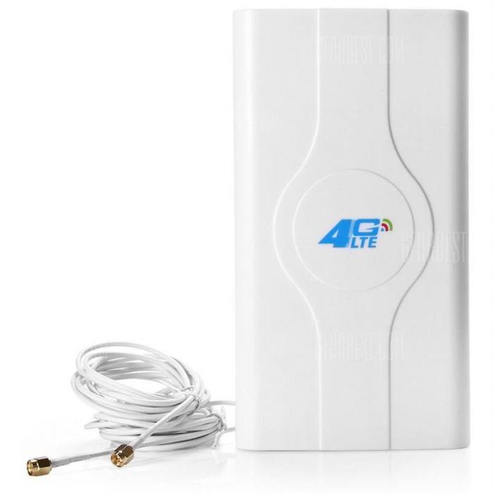 אנטנה מגבירה עד 49dBi לנתב סלולרי B593 חיבור SMA TS9