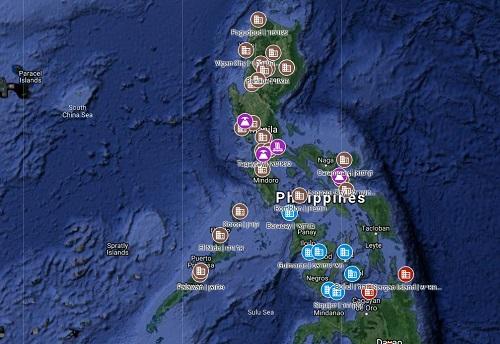 מפת הפיליפינים