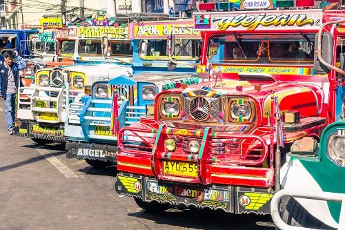 תחבורה והתמצאות בפיליפינים