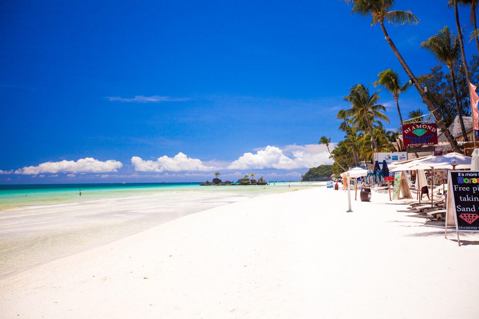 נוף פסטורלי באי בורקאי