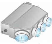 תדיראן דגם SUPER WIND 35/3R תלת פאזי דירוג אנרגטי : G