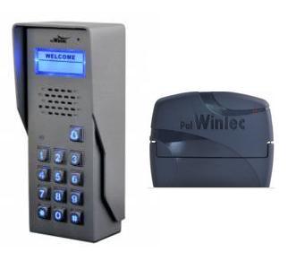 """סט פנל COM 50 KTV/N משולב קודן עם כיתוב מהודר אנטי ונדלי + מתאם לקו טלפון ואינטרקום דגם pal 101 לדלת אחת מחיר: 1250 ש""""ח 03-5660835 לאריה"""