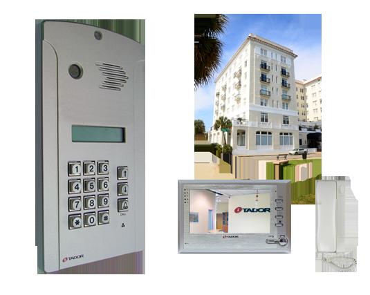 תוספת אינטרקום לבניין   לבניינים - א.מ. טלפון אינטרקום NC-95