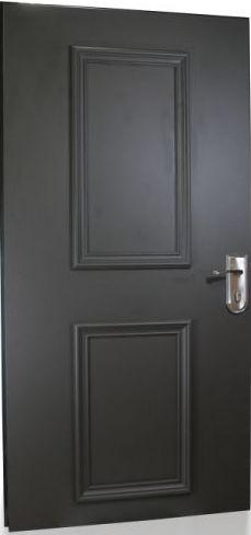 דלת פלדלת צבועה בתנור במבצע