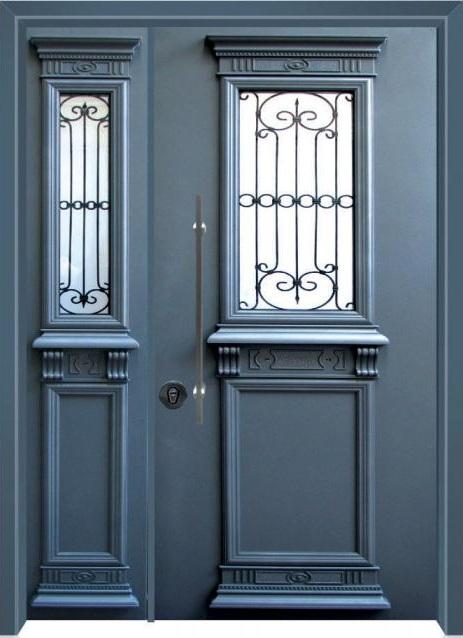 דלת כניסה ארט-נובו 6006