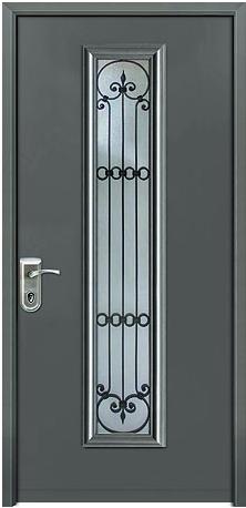 דלת כניסה קלאסית 1211