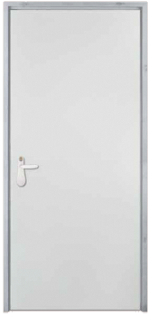 שונות דלת אש עם נעילה רב בריחית | עוז דלתות RO-09