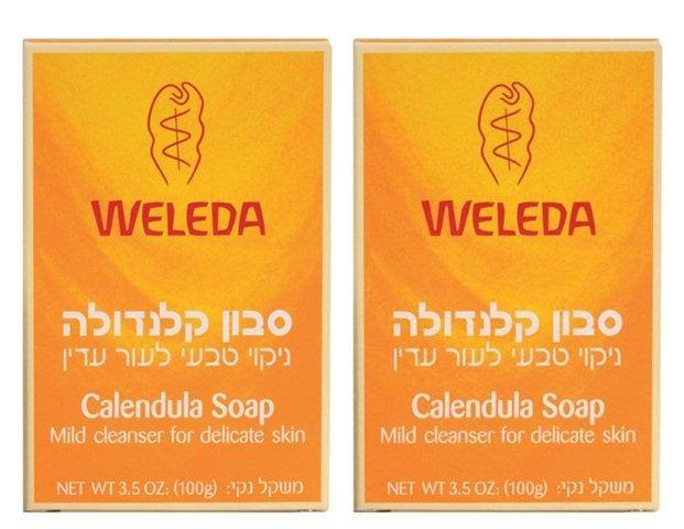סבון קלנדולה (זוג) - WELEDA